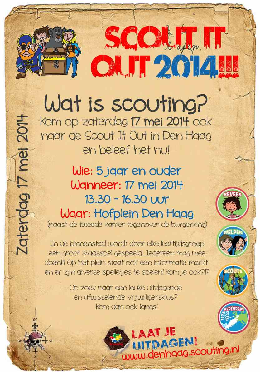 Scout it Out 14 Flyer